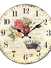 Zemlja cvjetni zidni sat