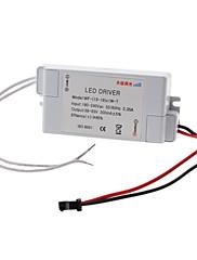 13-18W調光可能なLED定電流源電源駆動(180-240V)