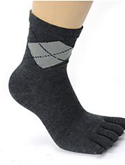 jóga 100% bavlna anti-přibližování ponožky (assortted barev)