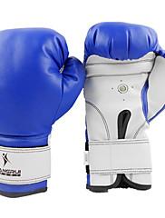 ボクシング・練習用グローブ グラップリンググローブ ボクシンググローブ のために ボクシング 総合格闘技(MMA) ムエタイ 空手 ミトン 高通気性 防滑り 耐衝撃性 耐久性 保護 PU ブラック レッド ブルー