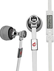 MP3、MP4、携帯電話、パソコンG19のMICとリモートとインイヤー式ヘッドフォンを音節