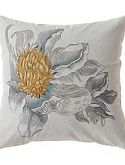 živý coutry květinové dekorační polštář