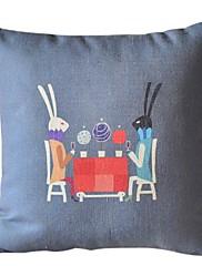 ロマンスディナーコットン/リネン装飾的な枕カバー