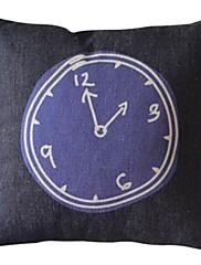 2時のコットン/リネン装飾的な枕カバー