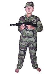 zgodni vojnik kamuflaža pamuk slatka dječji kostim