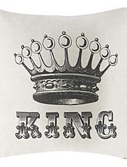 Kralj pamuka / lana dekorativne jastuk poklopac