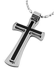 titan pánské cross náhrdelník