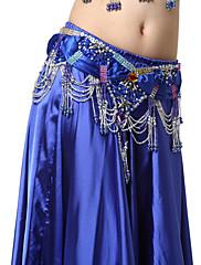výkon dancewear satén s lišt a flitry břišního tance pásů pro dámy více barev