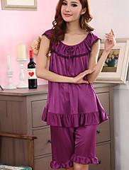 Dámská móda Purple Elegantní Sexy Illusion Lace Tenký Lounge Pas 100cm
