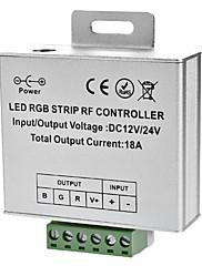 LED RGBストリップライト(12/24V)用のワイヤレスタッチ5キーリモコン