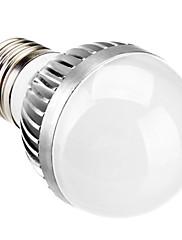 E27 5ワット10x5630smd 400LM 5500K冷たい白色LEDボール電球(110-220V)