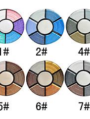 7 barev okouzlující oční stíny