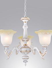 American Style Rustic 3 up Light lustr ve stínu Floriform
