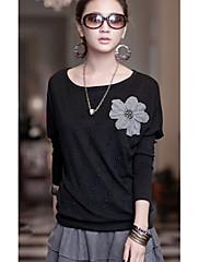 Korálky Dámské Flower T-Shirt