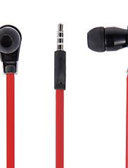 BSB-128 HTC、SAMSUNG(赤)、iPhone用のリモコンとマイク付きステレオ