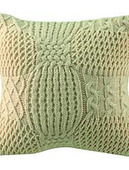 """12 """"スクエアランタン柄アクリル装飾的な枕カバー"""