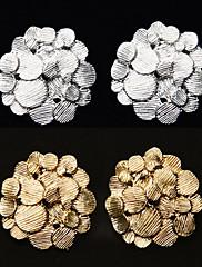 korejština šperky ol vítr bohaté květinové náušnice cvoka krásné náušnice (Random Color)