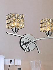 クリスタル 壁掛けライト,現代風 G9 メタル