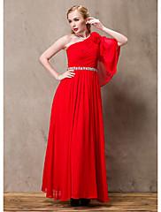 Lady Antebellum Elegantní dlouhé šaty jedno rameno