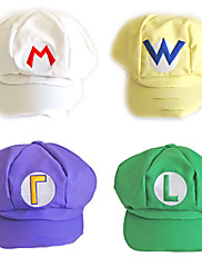 5 Color Super Mario Hat Unisex Halloween Cap