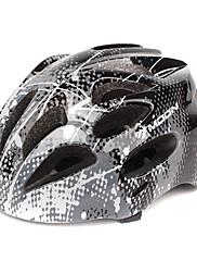 MOONサイクリングPC +は21ベントウルトラライトブラック自転車/バイクヘルメットをEPS