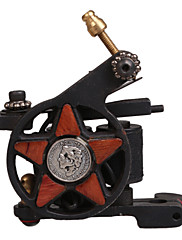Low-Carbon Steel petokraka zvijezda Style Tattoo Machine za liner i Shader