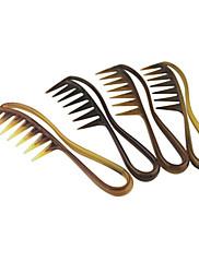 プロのヘアドライヤー広い歯の櫛(色ランダム)