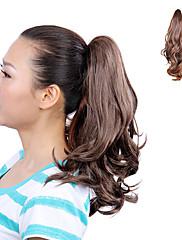 Vysoká Teplotní odolnost Light Brown Populární Wave Cop prodlužování vlasů