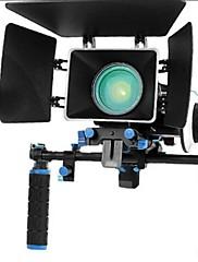 Rig Movie Kit With Follow Focus + Shoulder Mount Holder + Mattebox Camera Rig For Dslr Cameras