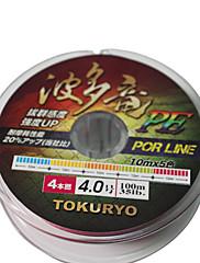 TOKURYO PE 100M vlasec Pack (8 Nese)
