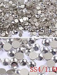 1440PCS Pola Okrugli Stan Base Rhinestone Nail Art Dekoracije (1.5mm)