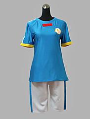 イナズマイレブン日本代表夏青のver.サッカーユニフォームコスプレ衣装