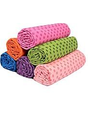 Balance Body Slip Resistant Yoga Mat Towels