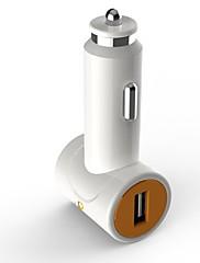 D8 Marka Dual USB auto upaljač za punjač White
