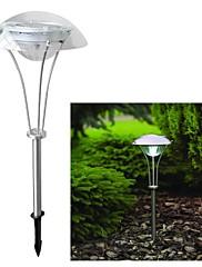 3-dovela solarne energije bijeli vanjski vrt put krajolik noćno svjetlo