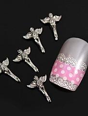 10ks módní slitina s křídly nail art zdobení