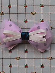 Purple organza 11cm saténovou mašlí Sladká Lolita Barrette