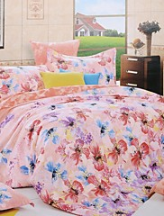 sweet-dobromyslně home®4 kusu moderní bavlna tisk zahušťování plný peřinu set