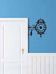 Nástěnné hodiny nálepky na stěnu, bytové dekorace hodiny pvc samolepky na zeď