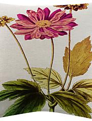 5カラフルな花柄のコットン/リネン装飾枕カバーのセットtwopages®