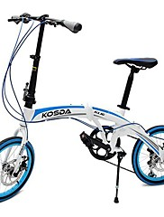 """kosda 20 """"バイクの可変速度アルミ合金フレームBMXロードバイク学生自転車"""