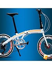 クリスマスプレゼント用の自転車自転車シマノ7ギア市内ツアー折りたたみ自転車、ミニでcyrusher 20