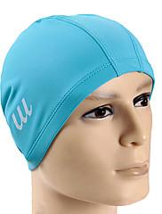 Youyou unisex velké rozměry vysoce kvalitní pu vodotěsný protiskluzová ochrana vlasů Ochrana sluchu koupací čepice