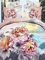 baolisi® 3d modni ugodno cvjetni print posteljina četiri komada