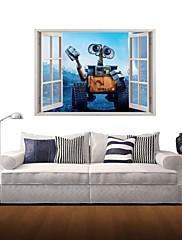 3D壁のステッカー壁のステッカー、漫画家の装飾ビニールの壁のステッカー