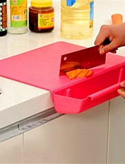創造的な多機能まな板、プラスチック29×38×6.7センチメートル(11.5×15.0×2.7インチ)ランダムな色
