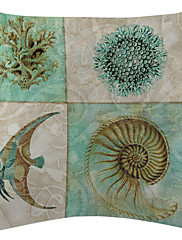 Marine biološka puzzle baršun dekorativne jastučnicu