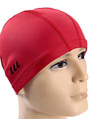 Youyou unisex velké velikosti pu vodotěsný protiskluzová ochrana na vlasy ucho OCHRA nositelné koupací čepice