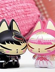 創造的なギフト結婚式の装飾車の装飾カースタイリング結婚式の贈り物のためzhuaimaoアクションフィギュアのおもちゃ(2個)
