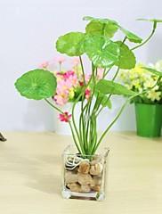 umělá květina Lysimachia s malými čtvercovými trávy vázy